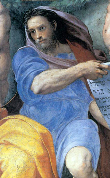 St. Augustine Church, Prophet Isaiah by Raphael