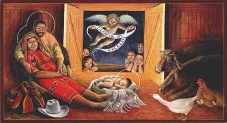 John Giuliani, Guatemalan Nativity, 1990s.