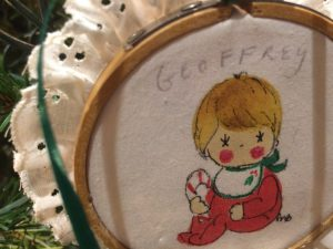 Ornament from the Fisher family